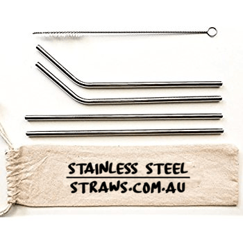 Fundraising Stainless Steel Straws