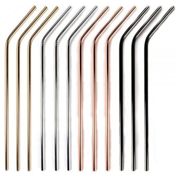 Stainless Steel Smoothie Straws