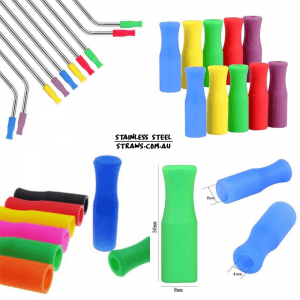 Metal Straw Silicone Tips