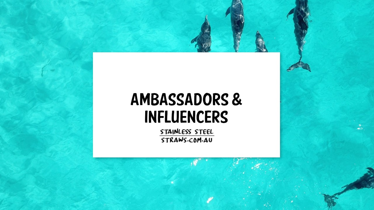 Ambassadors and Influencers