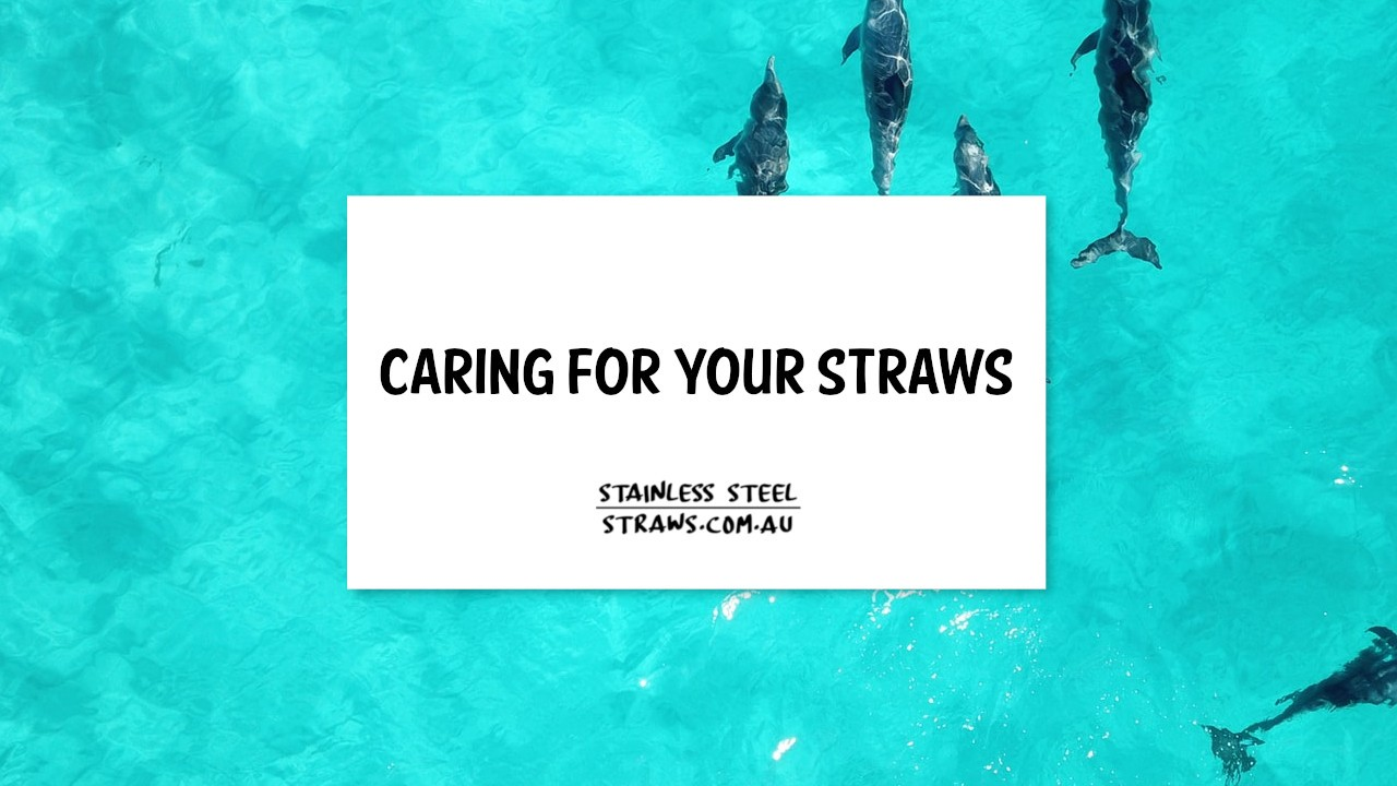 caring for your straws