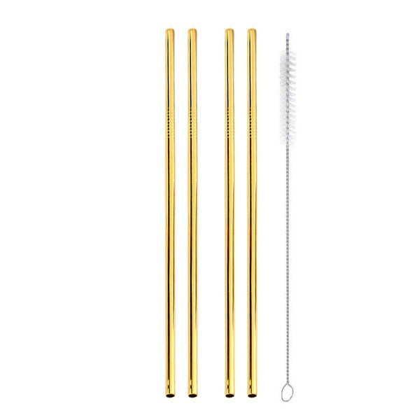 gold straws 4 straight