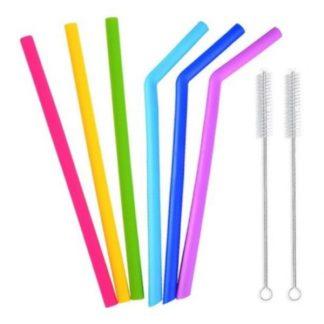 Silicone Straws Combo