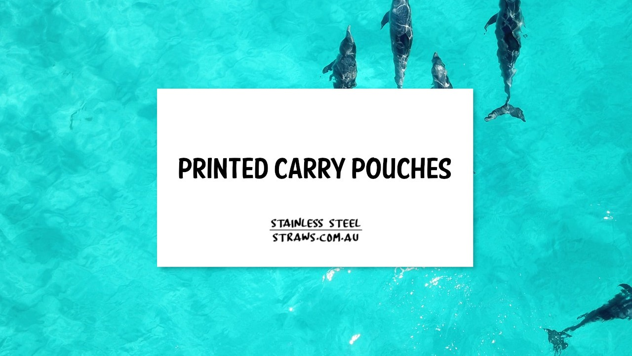 Printed Carry Pouches