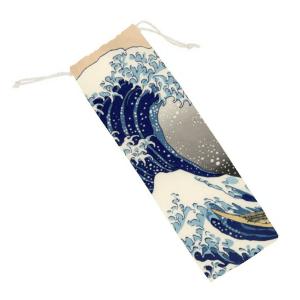 Tsunami Colour Printed Pouch
