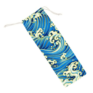 Fantasy Wave Printed Carry Pouch