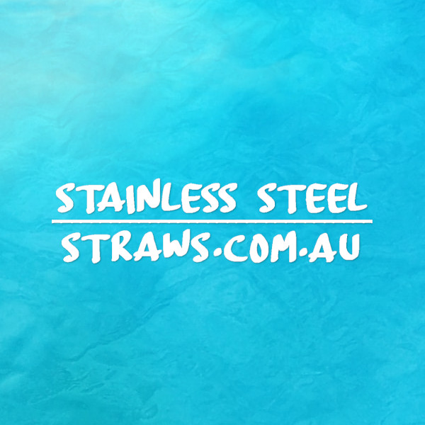 Stainless Steel straws icon
