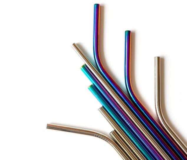 Stainless Steel Straws Metal Straws