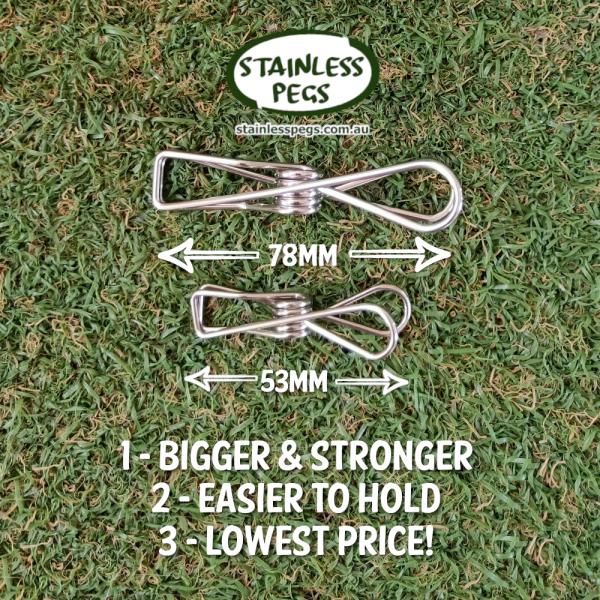 Stainless Pegs Australia